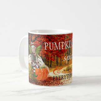Pumpkin Spice and Everything Nice Autumn Mug