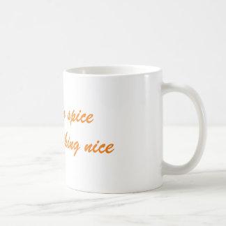 Pumpkin Spice and Everything Nice Fall Coffee Mug