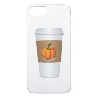 Pumpkin spice coffee cup iPhone 7 case