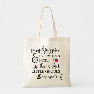 Pumpkin Spice Girls' Halloween Tote