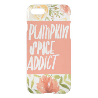 Pumpkin Spice  iPhone 8/7 Clearly™ Deflector Case