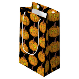 pumpkin spice latte gift bags