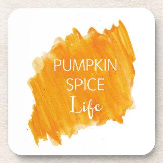 Pumpkin Spice Life Drink Coaster