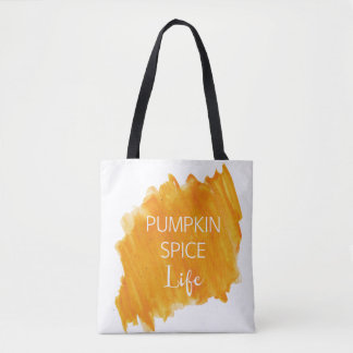 Pumpkin Spice Life Tote Bag