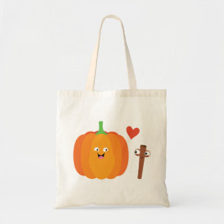 Pumpkin Spice Love Fall Illustration Tote