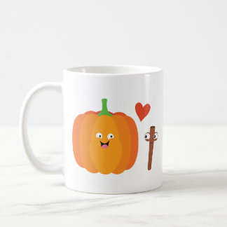 Pumpkin Spice Love Fall No Words Mug