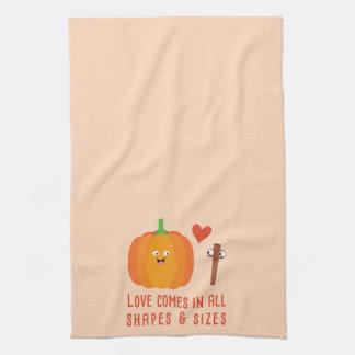 Pumpkin Spice Love Kitchen Towel
