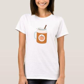 Pumpkin Spice Mason Jar Fall Coffee Drink T-Shirt