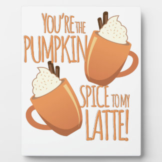 Pumpkin Spice Photo Plaques