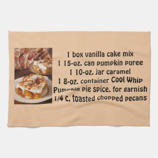 Pumpkin Spice Poke Tea Towel