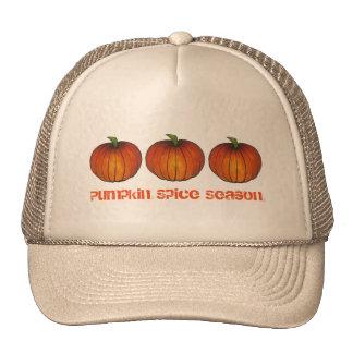 Pumpkin Spice Season Orange Autumn Pumpkins Hat