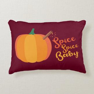 "Pumpkin ""Spice Spice Baby"" Fall Pillow"
