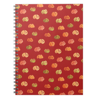 Pumpkin Spiral Notebook