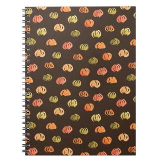 Pumpkin Spiral Notebook