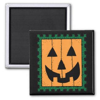 Pumpkin Stamp Magnet