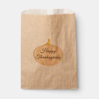 Pumpkin Thanksgiving | Favor Bag
