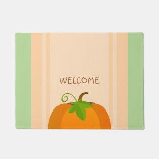 Pumpkin Top Doormat
