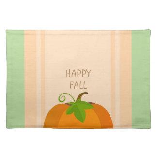 Pumpkin Top Placemat