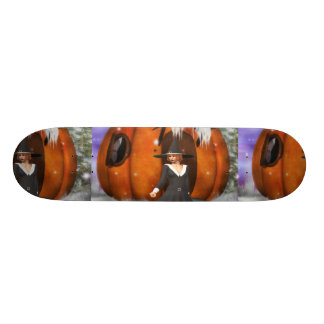 Pumpkin Witch Skate Boards