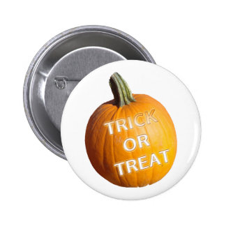 Pumpkin with Trick or Treat on it Pins