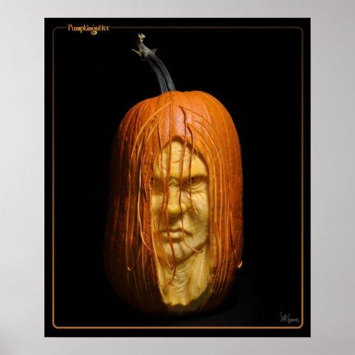 Pumpkingutter Poster - Ghoul