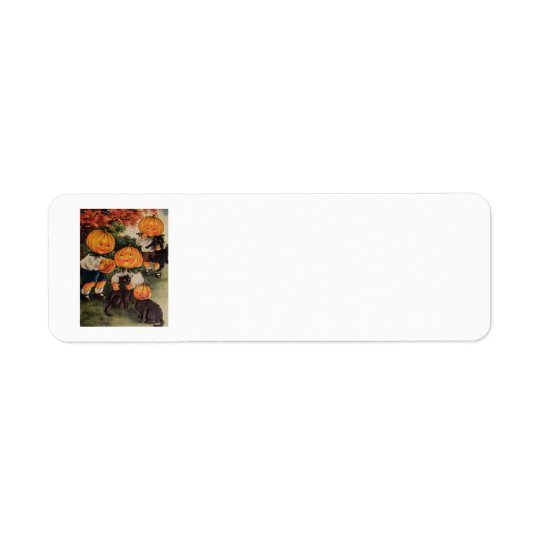 Pumpkinheads Return Address Label