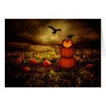 Pumpkinman Greeting Cards
