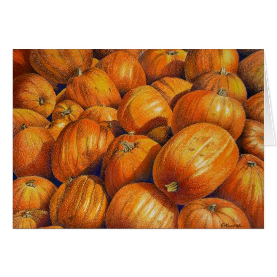 Pumpkins Card