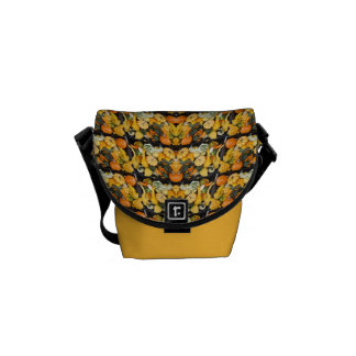 Pumpkins, Squash, and Gourds - Abstract Courier Bag
