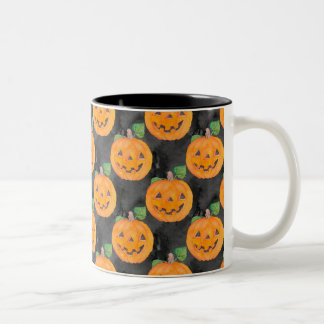 Pumpkins Two-Tone Coffee Mug