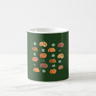 Pumpkins with Leaves 11 oz Classic Mug