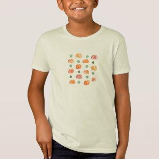 Pumpkins with Leaves Kids' Organic T-Shirt
