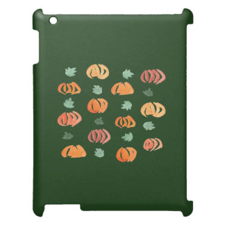 Pumpkins with Leaves Matte iPad Case