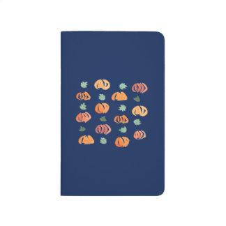 Pumpkins with Leaves Pocket Journal