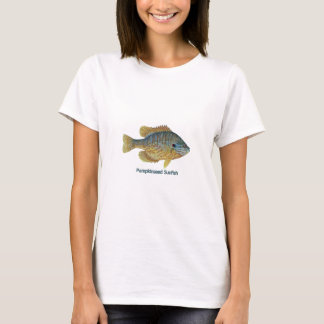 Pumpkinseed Sunfish (titled) T-Shirt