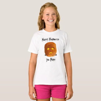 Pumpkinstein: Happy Halloween - You Hope T-Shirt