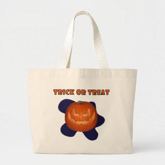 Pumpky The Jack-o'-lantern Trick Or Treat Bag