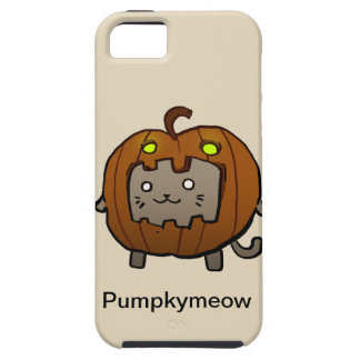 Pumpkymeow iPhone 5 Cases