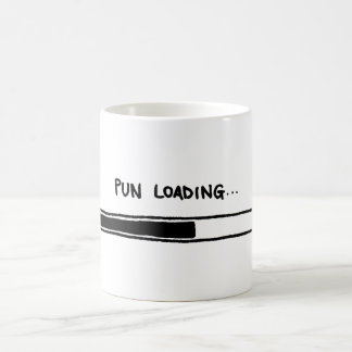 Pun Loading Coffee Mug