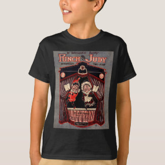 Punch and Judy Puppets Illustration Art T-Shirt