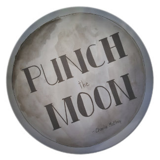 Punch The Moon products Dinner Plates