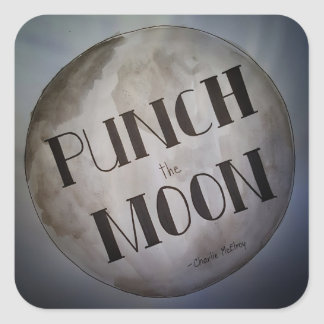 Punch The Moon products Square Sticker