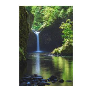 Punchbowl Falls Along Eagle Creek Trail 2 Canvas Print