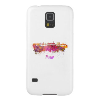 Pune skyline in watercolor galaxy s5 cover