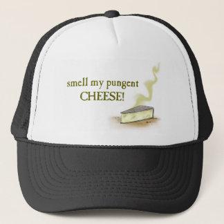 pungent cheese trucker hat