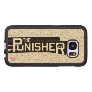 Punisher Logo Wood Samsung Galaxy S7 Case