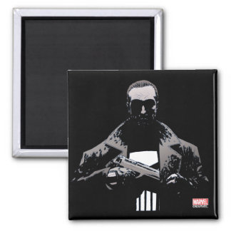 Punisher Out Of The Shadows Square Magnet