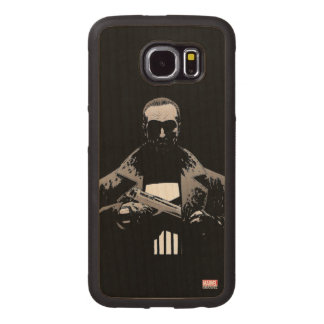 Punisher Out Of The Shadows Wood Phone Case