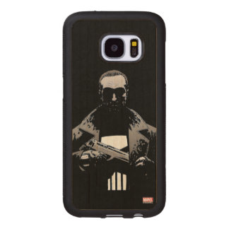Punisher Out Of The Shadows Wood Samsung Galaxy S7 Case