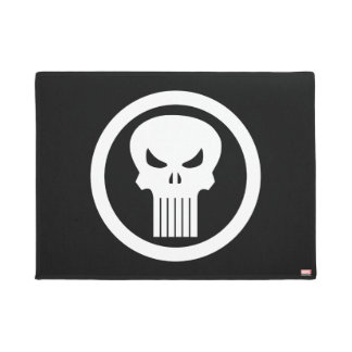 Punisher Skull Icon Doormat